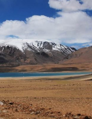 India: 16d Tso Moriri Lake Mountain biking